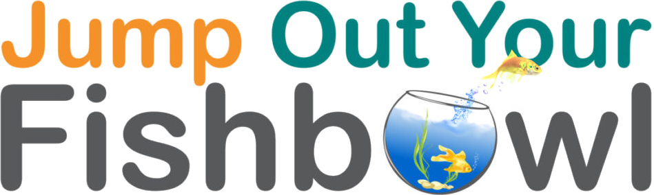Jump Out Your Fishbowl Logo